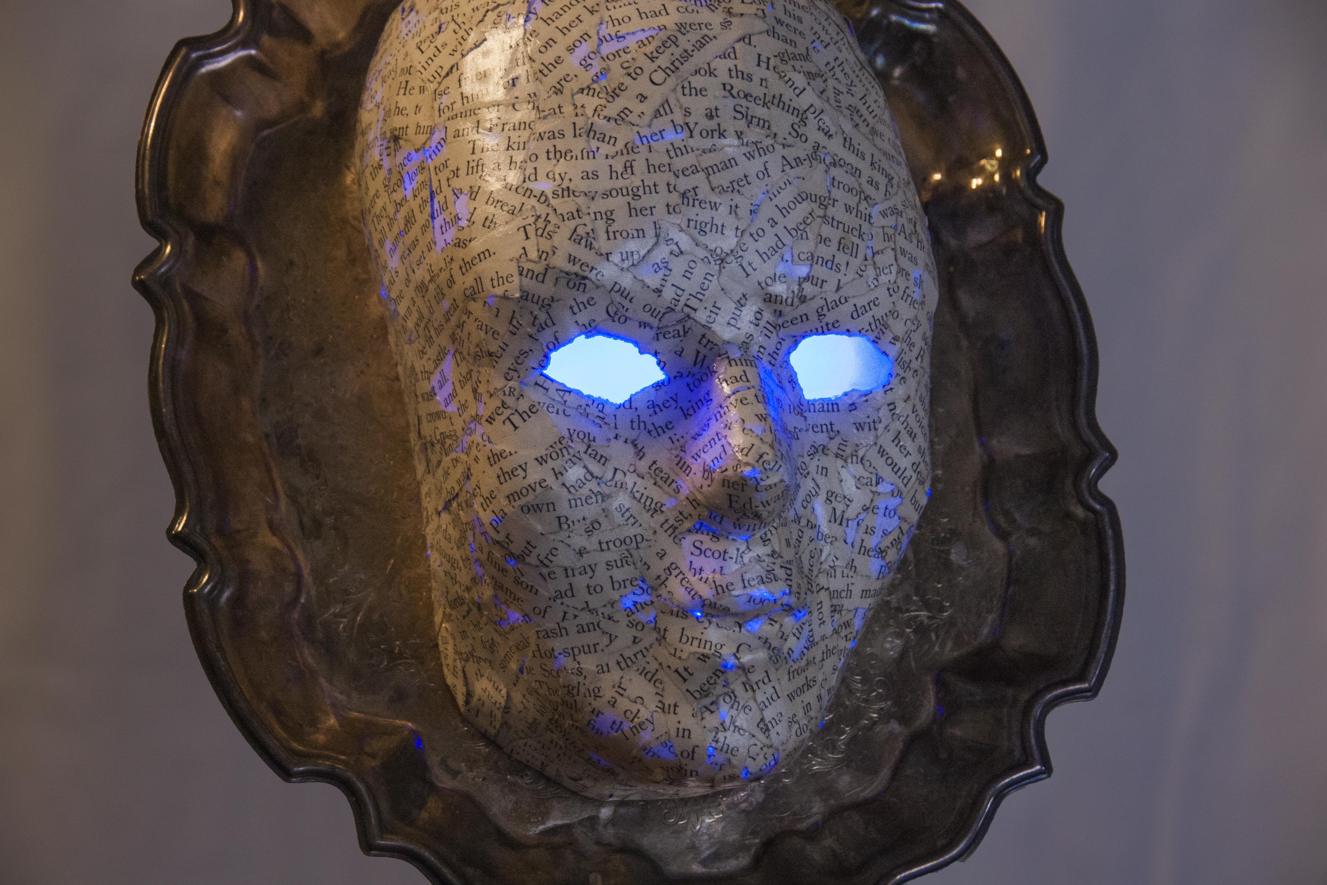 Automaton Steampunk Music Lamp